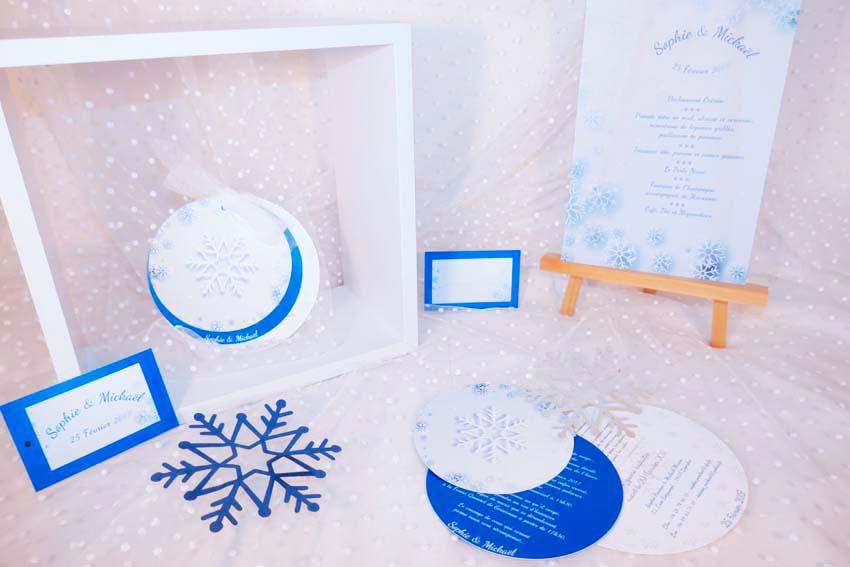 faire-part-hiver-bleu-givre-flocon-menu-marque-place-livre-or-2