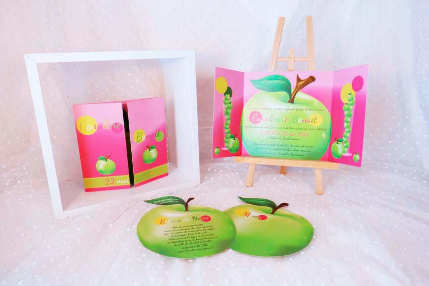 faire-part-menu-pomme-rose-vert-1