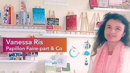 Vanessa Ris Créatrice de faire-part